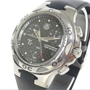 Tag Heuer Titanium 200m water resistant watch